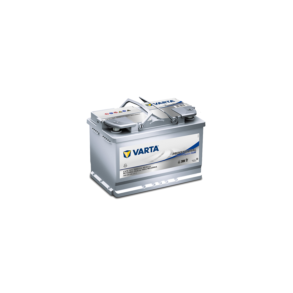 μπαταρια αυτοκινητου Varta Professional Marine AGM Dual LA70 Μπαταρίες διπλού σκοπού