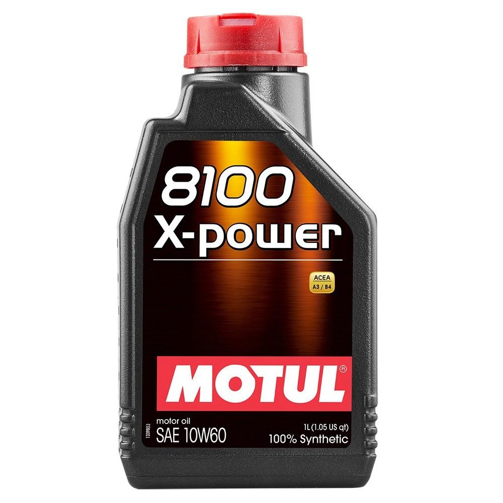 MOTUL 8100 X-POWER 10W-60