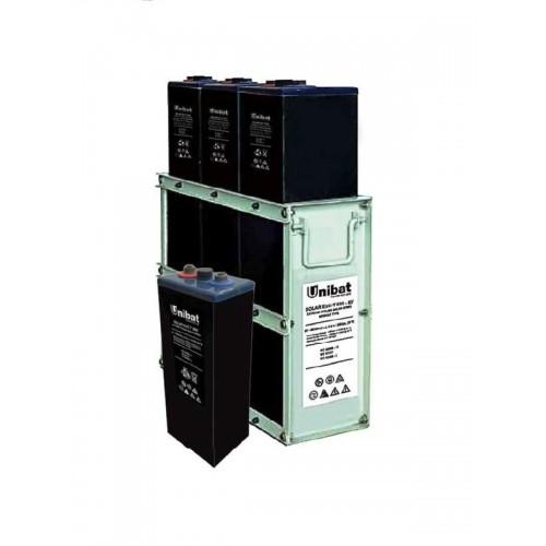 UNIBAT Βαθείας Εκφόρτισης SOLAR ExC-T 2V-1200Ah