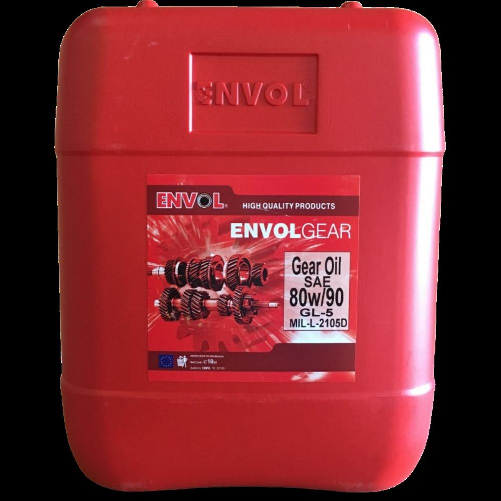 ENVOL GEAR OIL 80W-90 GL-5
