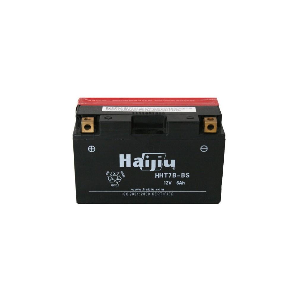 μπαταρια αυτοκινητου Μπαταρία μοτό HAIJIU HT7B-BS Μπαταρία κλειστού τύπου