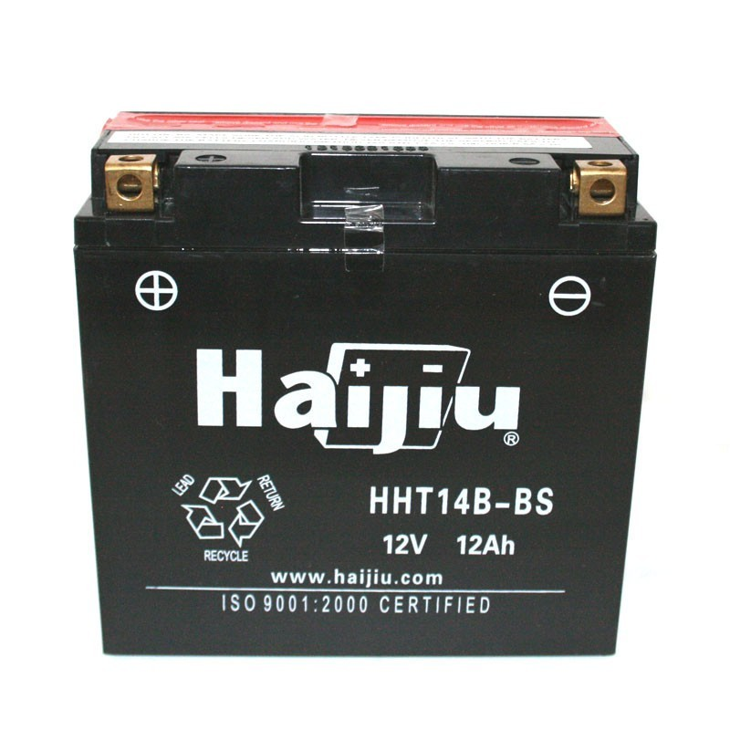 μπαταρια αυτοκινητου Μπαταρία μοτό HAIJIU HT14B-BS Μπαταρία κλειστού τύπου