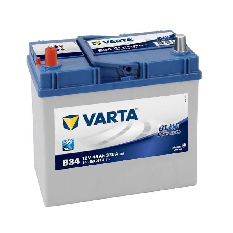 μπαταρια αυτοκινητου Μπαταρία αυτοκινήτου Varta Blue Dynamic B34 Μπαταρίες κλειστού τύπου