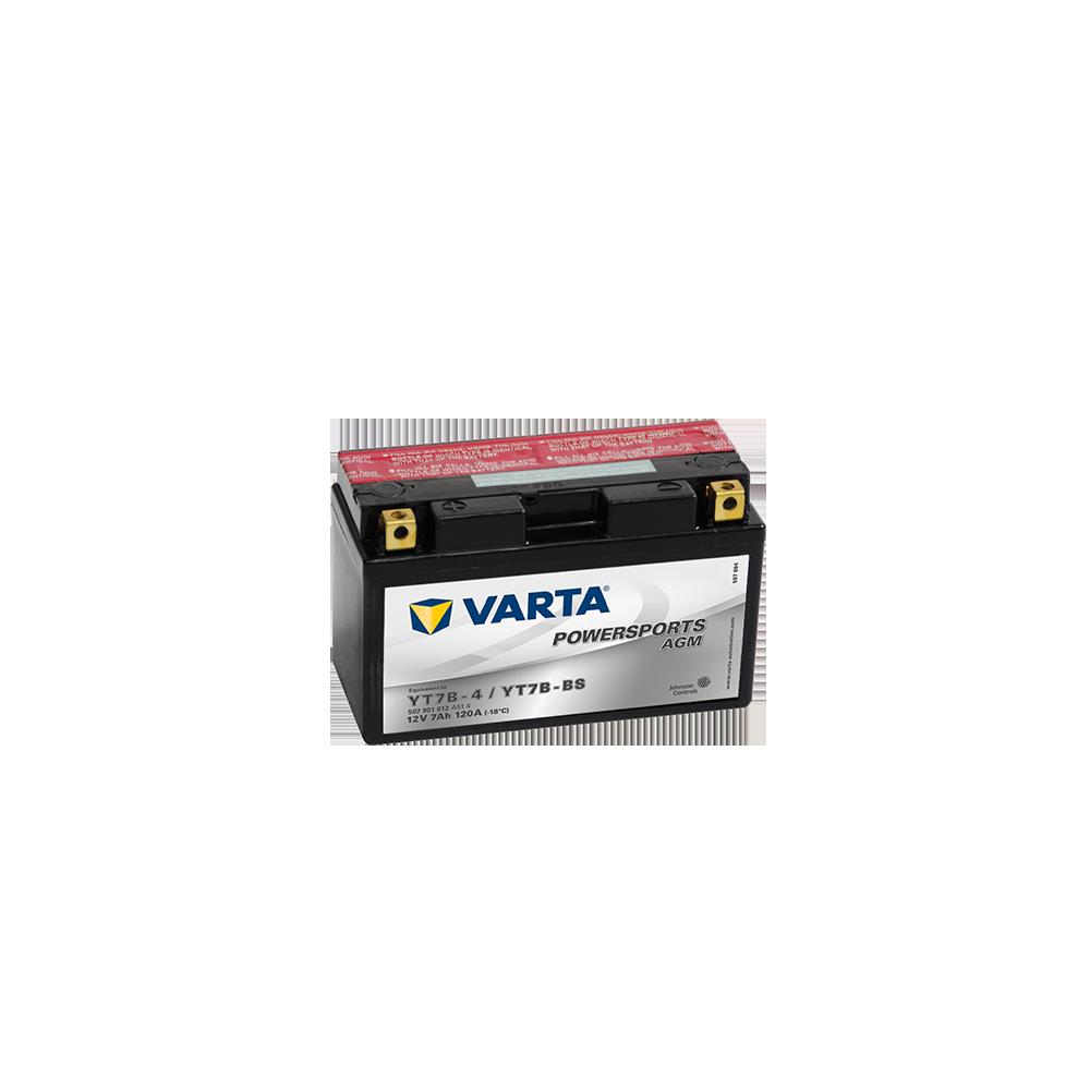 μπαταρια αυτοκινητου Μπαταρία μοτό VARTA Powersports AGM YT7B-BS Μπαταρία κλειστού τύπου