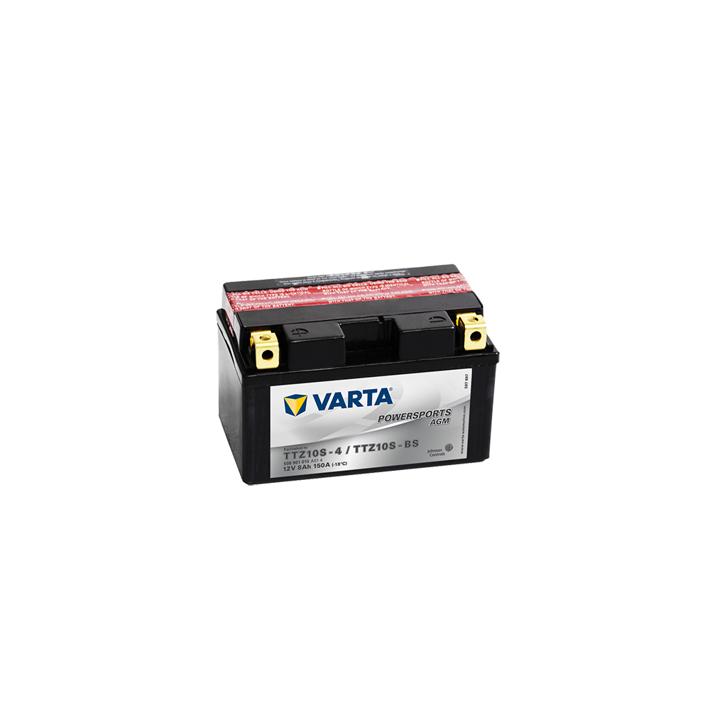 μπαταρια αυτοκινητου Μπαταρία μοτό VARTA Powersports AGM YTZ10S-BS Μπαταρία κλειστού τύπου
