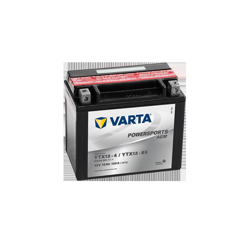 μπαταρια αυτοκινητου Μπαταρία μοτό VARTA Powersports AGM YTX12-BS Μπαταρία κλειστού τύπου