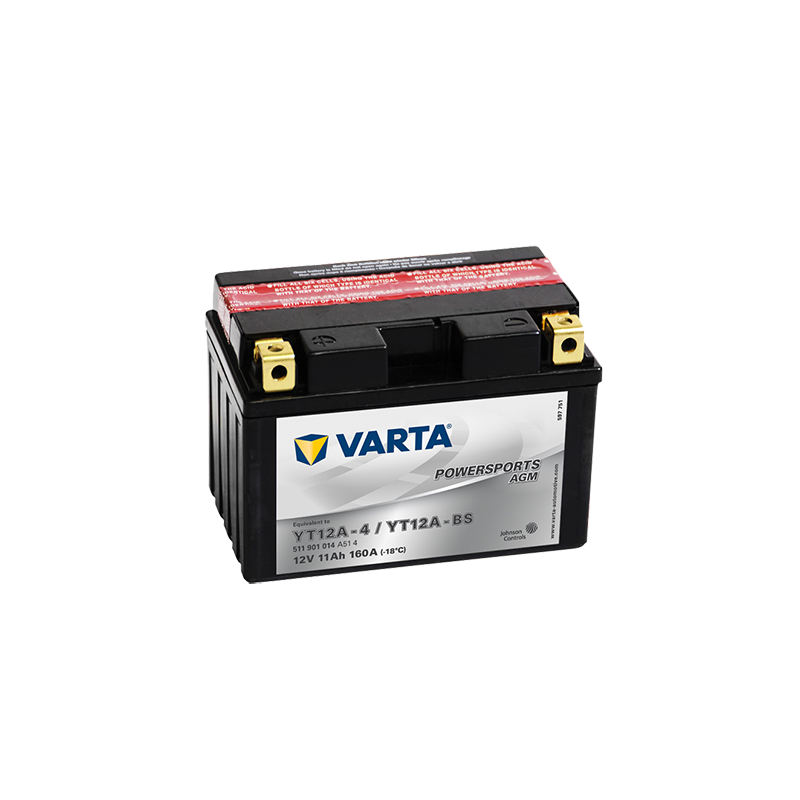 μπαταρια αυτοκινητου Μπαταρία μοτό VARTA Powersports AGM YT12A-BS Μπαταρία κλειστού τύπου